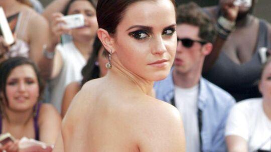 Emma Watson - fotograferet ved en premiere