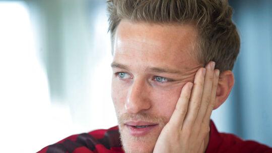 Anders Lindegaard var den eneste United-spiller, der ikke ville se El Clasico.
