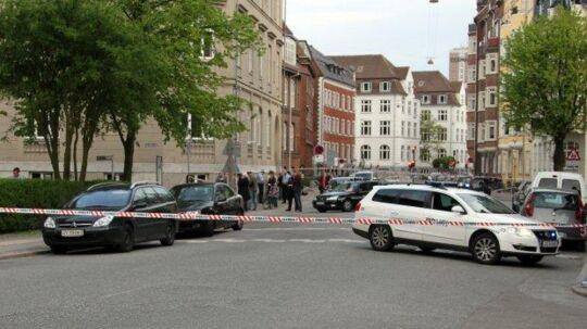 Her på Vodroffsvej blev der affyret 12 skud i et såkaldt 'drive by' mod bandegrupperinger fra blandt andet Blågårds Plads. Ingen blev ramt.