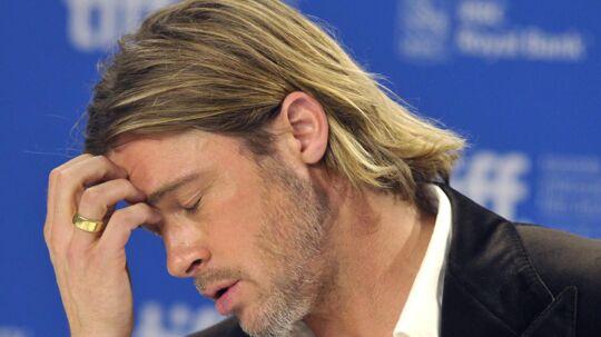 Brad Pitt vil ikke kigge sig bagud. Selv hvis han er kørt forkert, ændrer han ikke kurs.