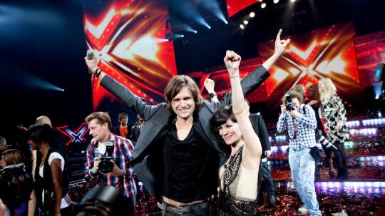 X-Factor er blandt de ting, som får danske tv-seere til at klage. Her ses dette års vinder, Thomas.