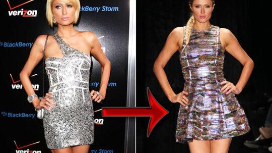 Paris Hilton har undergået en markant image-forandring.