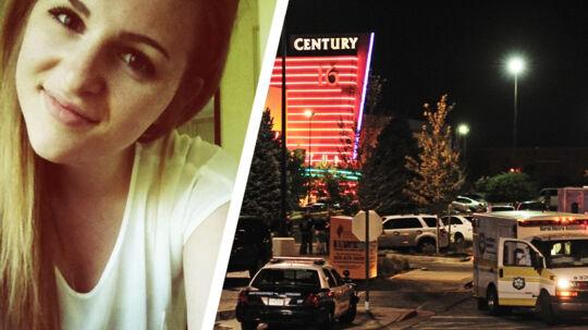 Den 18-årige Malene Nygaard fra Skovlunde befandt sig i biografen i Denver under skyderiet.