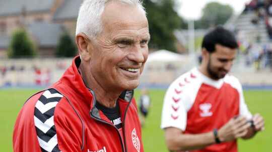 Richard Møller Nielsen var landstræner, da Danmark vandt EM 1992. Torsdag gik han bort.