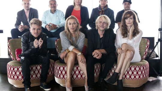 """DR præsenterer deres nye talentprogram """"Skjulte Stjerner"""" Otte danske musikere skal coache hver deres talent, og sammen skal de prøve at vinde førstepladsen og 250.000 kroner."""