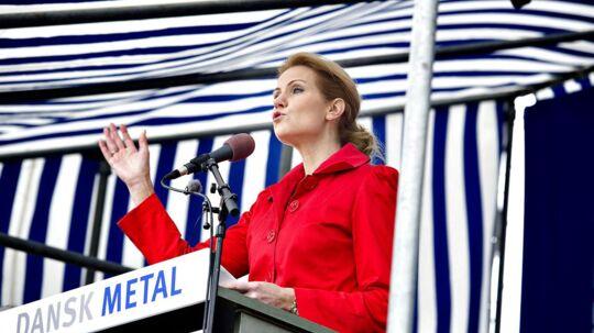 Statsminister Helle Thorning-Schmidt (S) holder sin grundlovstale 5. juni 2012.