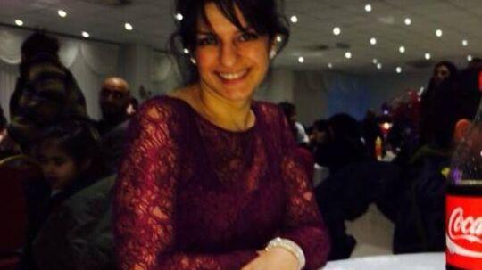 28-årige Sinem Fener blev torsdag likvideret af sin eks-mand Harun Fener. Fire dage før havde han ifølge politiet truet hende på livet. (Foto: privat)