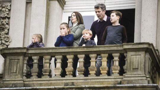 Kronprinsparret og deres børn holder jul i Tasmanien.
