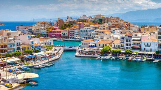 Kretas hjerte Agios Nikolaos.