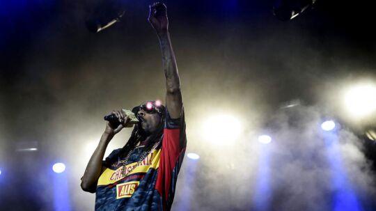 Snoop Dogg giver koncert i Tivoli.