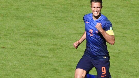 Robin van Persie har vist storform ved VM i Brasilien, og han er ifølge Jan Heintze en stor grund til, at hollænderne tror på VM-guld.