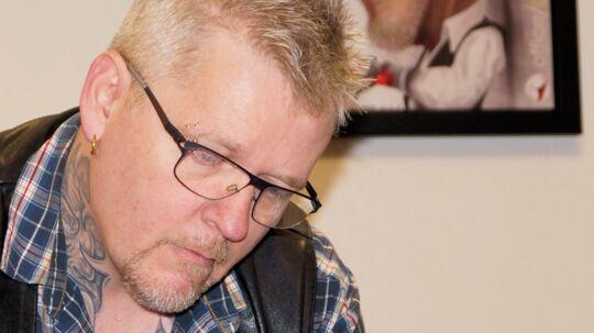 Lars W. Kristensen er formand for Dansk Tatovør Laug. Foto: Privat