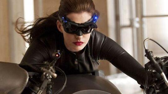 Det bliver en åleslank Anne Hathaway som Catwoman, vi får at se i den kommende Batman-film, 'The Dark Knight Rises'