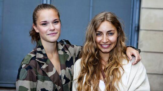 Jaqueline Hoffmann og Camilie Srari.