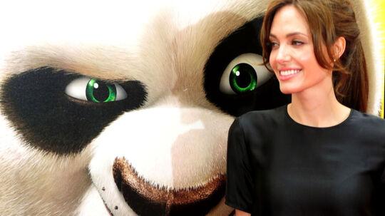 - Jeg elsker Tiger. Hun er en af de bedste karakterer, jeg nogensinde har spillet, og hun har udviklet sig siden den første film, siger Angelina Jolie om sin rolle i 'Kung Fu Panda 2'.