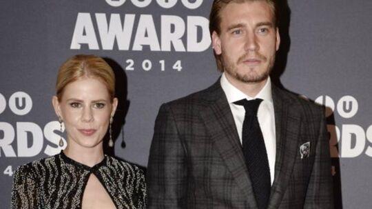 To af de kendte, der mødte op til Zulu Awards var skuespillerinden Julie Zangenberg i en yderst vovet kjole med fodboldkæresten Nicklas Bendter.