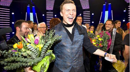 Brinck - vinder af det danske Melodi Grand Prix 2009.