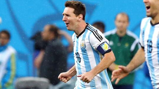 Messi og Argentina er finaleklar
