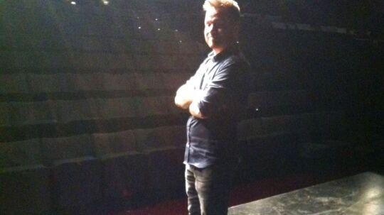 Rune Tolsgaard dagen derpå på scenen i Bremen