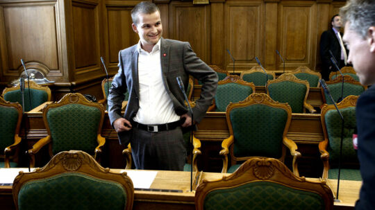 Folketingets åbning Skatteminister Thor Møger Pedersen