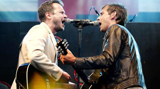 Skanderborg Festival 2011. Smuk Fest. De Eneste To. Simon Kvam og Peter Sommer