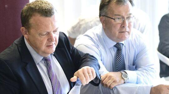Finansminister Claus Hjort præsenterer klokken 10 regeringens finanslovsforslag. Arkivfoto.