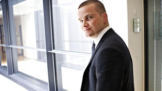 Skatteminister Thor Möger Pedersen