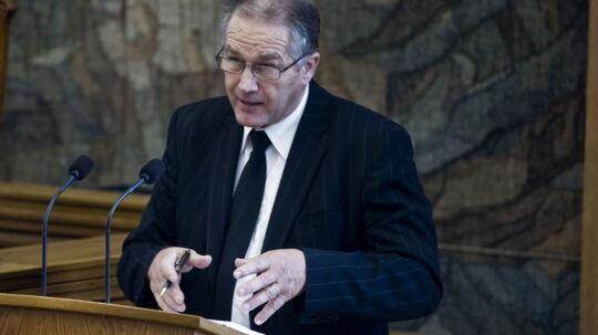 LA's Leif Mikkelsen foreslår en udlicitering af DSBs salgsvogne