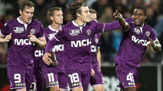 FC Midtjylland kom ud af regnskabsåret 2012/13 med et underskud på 2,5 mio. kroner.