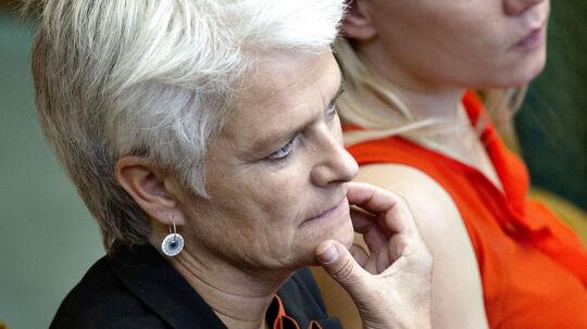 ARKIV- -Bliver Annette Vilhelmsen ny SF-formand, vil hun have regeringen omdannet i løbet af få dage. (Foto: Keld Navntoft/Scanpix 2012)