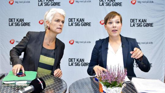 SF går solo til næste valgkamp, og begge formandskandidater er parate til at bryde det tætte bånd til Socialdemokraterne. Det er nødvendigt, hvis partiet skal undgå at miste vælgerne helt, vurderer Berlingskes politiske kommentator, Thomas Larsen.