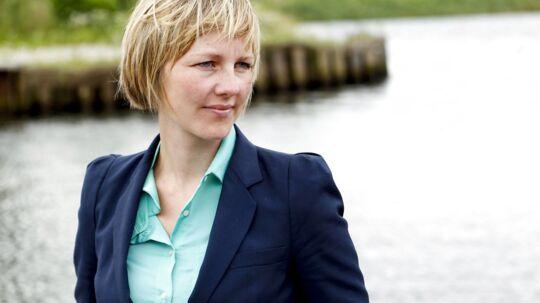 Miljøminister Ida Auken. En af kandidaterne til at overtage formandsposten i SF fra Villy Søvndal.