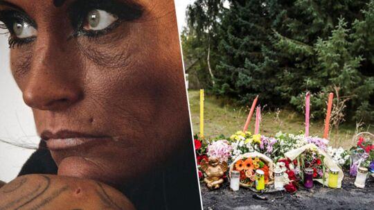 Bonnie Cleo Andersen var især berørt i retten i Næstved, da hun forklarede om forholdet til sin nu afdøde kæreste, Jan Lindskov. Hun havde kendt ham, siden hun var 15 år, men de blev først kærester for seks år siden.