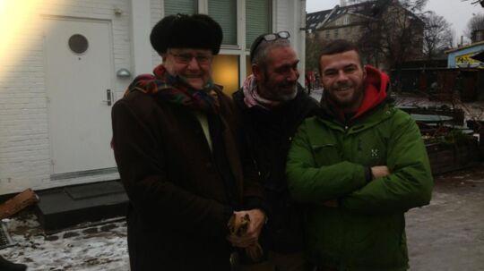 Prins Henriks søndagsbesøg på Christiania forløb helt stille og roligt.
