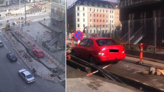 Sådan ser den ikke så smarte parkering ud. Kender du noget til bilen?