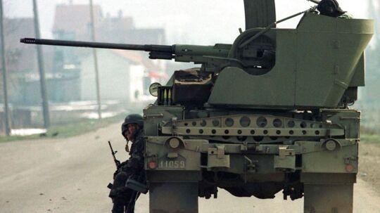 Krigen på Balkan er 'Danmarks Vietnam', mener forsker.