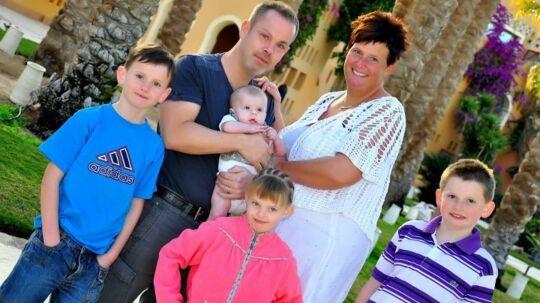 Camilla Højgaard og hendes familie fik ikke den rejse, de havde ønsket sig.