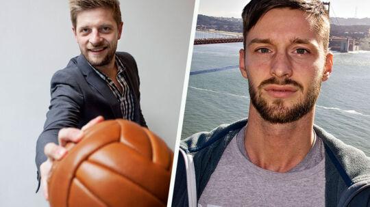 BT-journalisterne Morten Crone Sejersbøl (tv.) og Morten Risager (th.) er indstillet til titlen som Årets Sportsjournalist for deres reportager om Brøndby og OB.