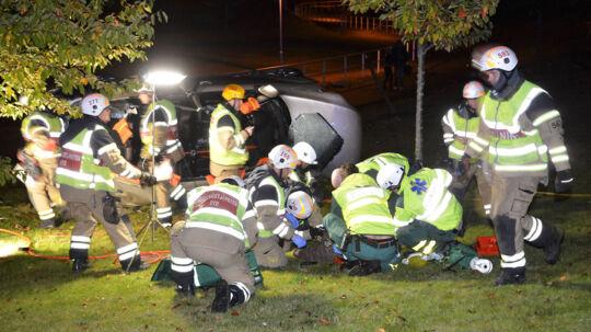 Ved ulykken kom passageren alvorligt til skade. Jim Tinndahn kan ikke selv huske noget fra ulykken.