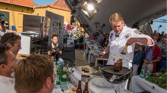 Danske kokke konkurrerer om titel »Sol over Gudhjem«.