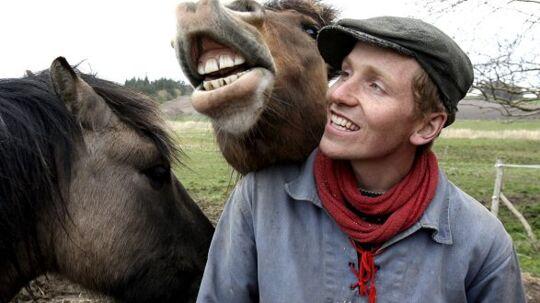 Frank Erichsen - bedre kendt som bonderøven - er en efterspurgt foredragsholder.