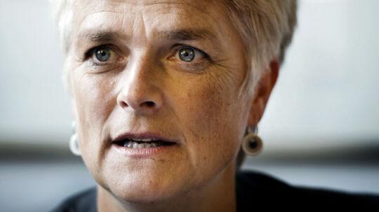 SF-formandskandidat Annette Vilhelmsen lægger sig ud med store dele af baglandet, hvis hun vinder og fyrer Thor Möger som minister.