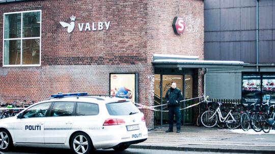 Valby Station. Arkivfoto