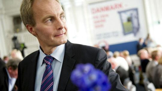 - Det bliver utrolig vanskeligt for hende at opnå det, hun er valgt på, siger Dansk Folkepartis gruppeformand, om valget af Annette Vilhelmsen som ny formand for SFPeter Skaarup.