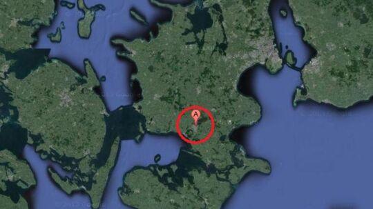 En pige fra Næstved - her markeret med et 'A' - blev mandag 23. september 2013 efterlyst, efter hun forsvandt fra sit hjem natten til mandag. Hun blev samme aften fundet i god behold.