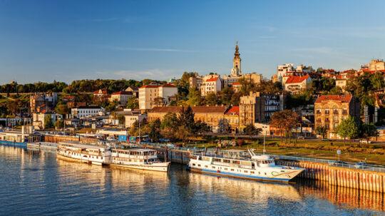I Serbiens hovedstad, Beograd, findes de bedst anmeldte hoteller til prisen. Foto: PR/Trivago