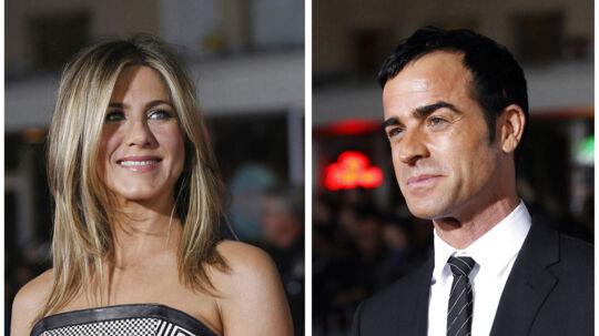 Jennifer Aniston er blevet forlovet med kæresten gennem mere end et år, Justin Theroux