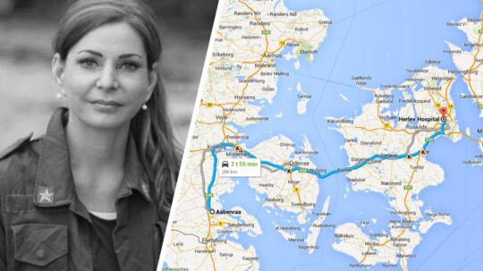 Pia Kjærsgaard glæder sig over, at Helle Jensen har fundet en løsning, men kalder det fuldstændig håbløst, at Helle Jensen måtte ty til private for at sikre sin operation i Herlev. De svageste risikerer at blive tabt, mener hun.