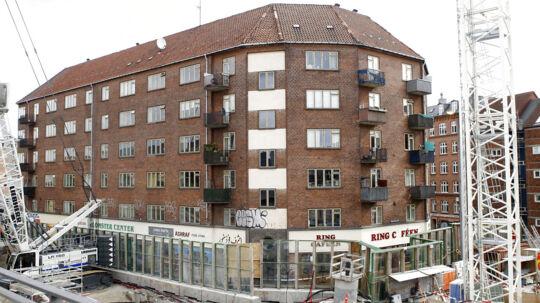 Tre opgange ved Nørrebro station blev i nat evakueret, fordi metro-byggeriet havde forårsaget akut sammenstyrtningsfare.