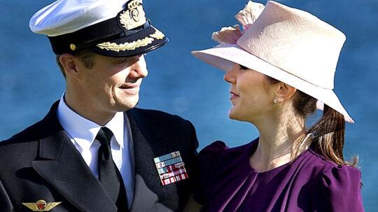 Arkivfoto: Kronprins Frederik og Kronprinsesse Mary